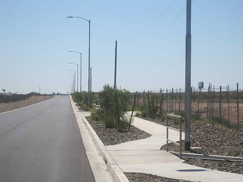 7. Frontage Road Construction